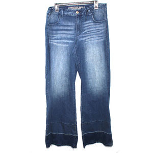 NWT American Eagle Released Hem A-Line Flare Jeans